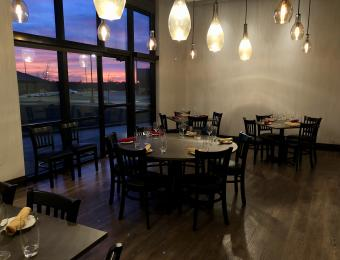 Lola's tables/sunset Visit Wichita