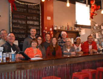 Third Place Bar & Staff Visit Wichita