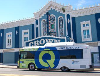 Q-line at Crown Uptown