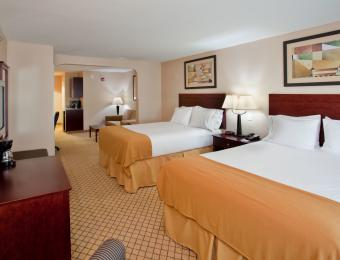 Holiday Inn Exp A/P Double Visit Wichita
