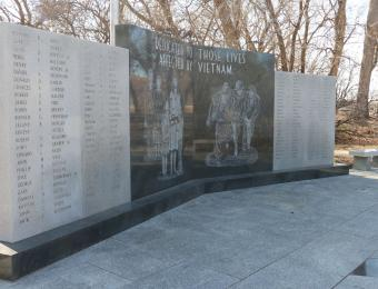 Veteran Park Vietnam Visit Wichita