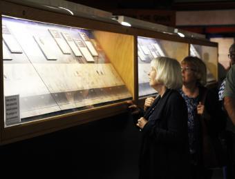 MWT Viewing exhibit Visit Wichita