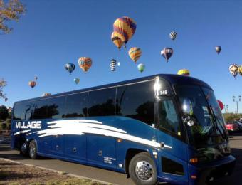 Bus Hot Air Balloons