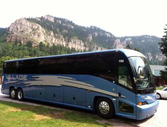 Bus in Black Hills Visit Wichita