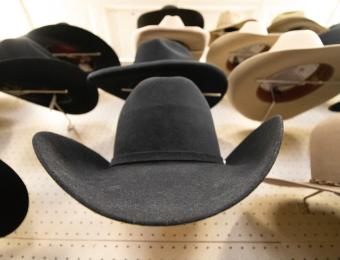 Hatman Jack's wall of hats Visit Wichita