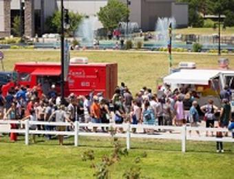 WaterWalk Food Truck Visit Wichita