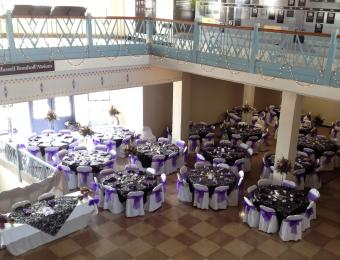 KAM Wedding 2nd Flr view Visit Wichita