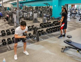 East YMCA Weight Room