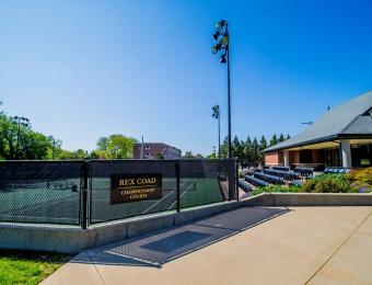 Sheldon Coleman Tennis Court Gate