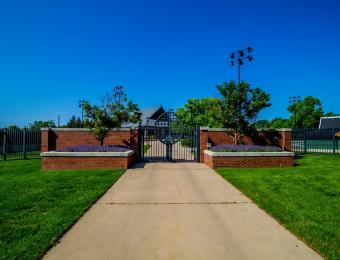 Sheldon Coleman Tennis Complex Entrance