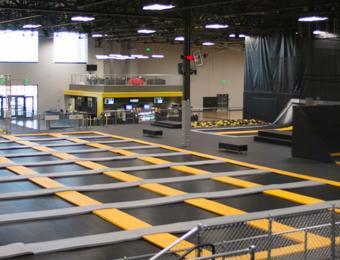 Aviate Trampoline Park at Wichita Sports Forum