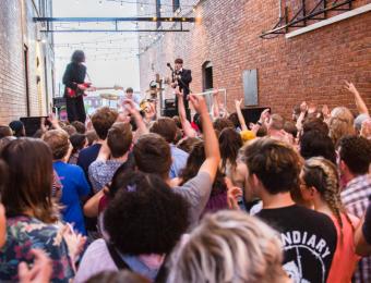 Gallery Alley concert Visit Wichita