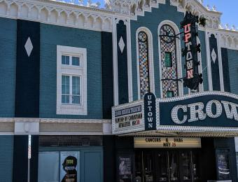 Crown Uptown Theater Entrance