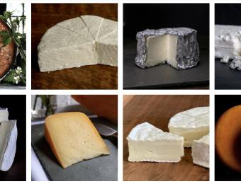 Small-batch goat and cow cheeses handcrafted at Elderslie Creamery. Available at the shop or online.
