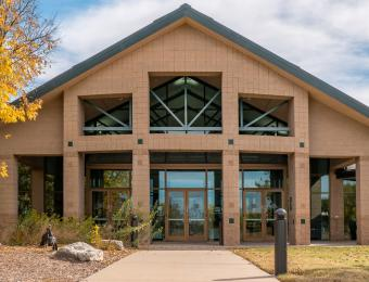 Great Plains Nature Center Entrance