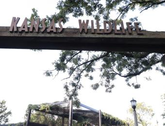 Kansas Wildlife Exhibit Entrance