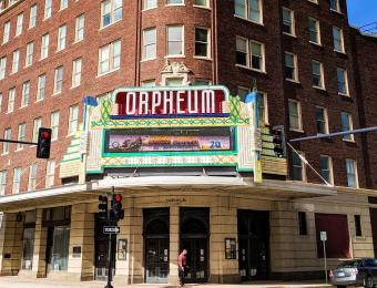 Orpheum Theater Entrance