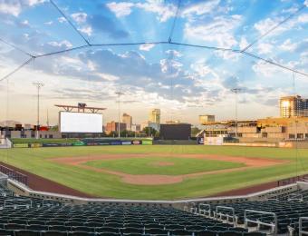 Riverfront Stadium in Wichita