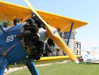 stearman bar and grill plane