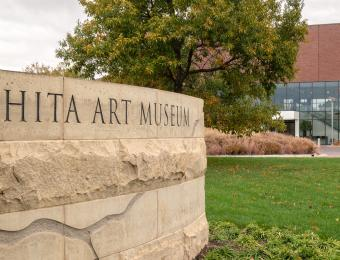 Wichita Art Museum Entrance