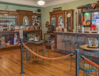 Old Pharmacy Display at the Wichita-Sedgwick Co. Historical Museum