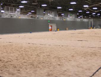 Wichita Sports Forum sand Pit