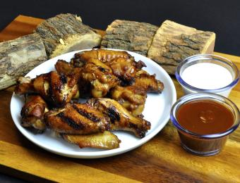 Chicken Wings and Wood