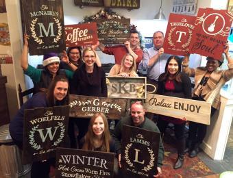 Board & Brush workshops Visit Wichita