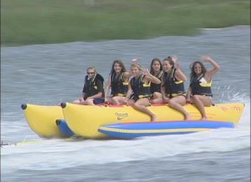 Banana Boats Visit Myrtle Beach