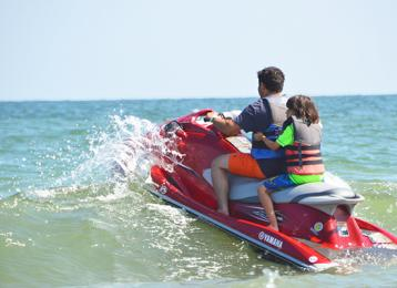 Jet Skiing Visit Myrtle Beach