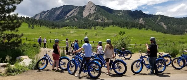 Electric Cruiser Bike Tour Boulder