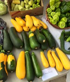 There's lots of delicious local food to be found at the Danville Farmer's Market.