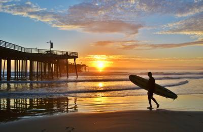 Pismo Beach surf