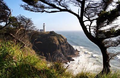 North Head Lighthouse Long Beach