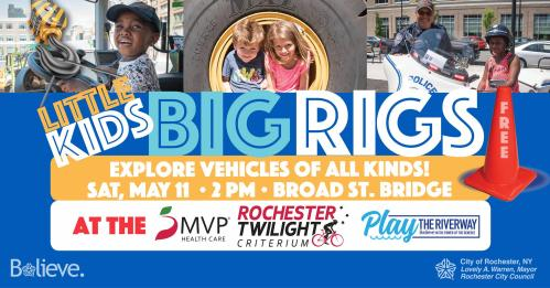 Little Kids and Big Rigs Promo City of Rochester