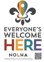 Everyone's Welcome Sticker