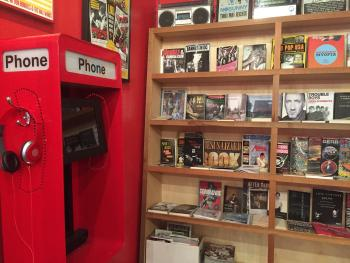 1-2-3-4 Go! Records listening station