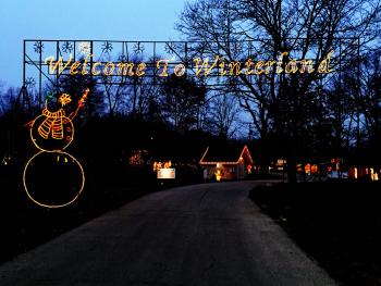 The Winterland Holiday Light Show is now open!