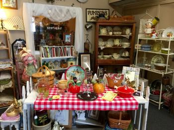 All kinds of treasures are waiting to be found at Garden Gate Gift & Flower Shop in North Salem