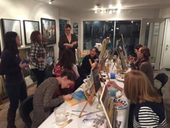 Terra Gallery Paint Party