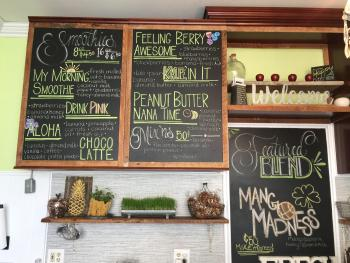 Blended Juice and Smoothie Bar offers a wide variety of healthy, all-natural and delicious smoothies and juices.