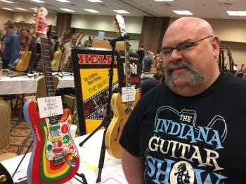 Invite a friend and come check out The Indiana Guitar Show on April 14.