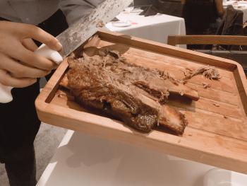 Fogo de Chao Cut Meat on Board