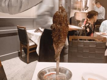 Fogo de Chao Cut Larger Meat Skewer