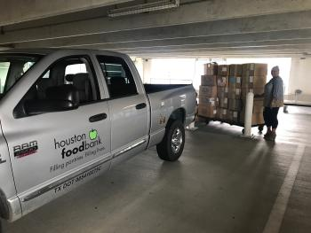 Houston Food Bank stops by GRB