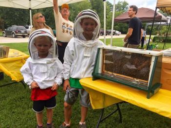 Celebrate pollinators at the McCloud Honeybee Festival on Saturday!