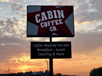 Grab breakfast, lunch, and more at Cabin Coffee Company in Avon!