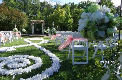 Avon Gardens wedding scrolls