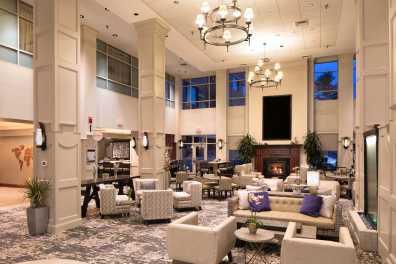 Open spacious atrium!