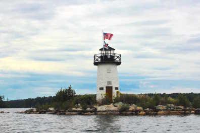 Cobbossee Lighthouse